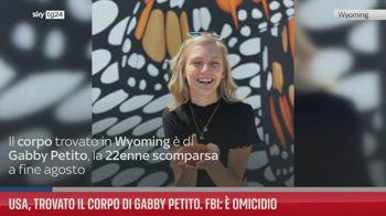 Usa, trovato il corpo di Gabby Petito. Fbi: � omicidio