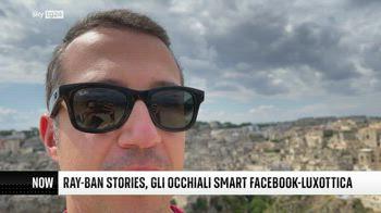 ++NOW Ray-Ban Stories, gli occhiali smart Facebook-Luxottica