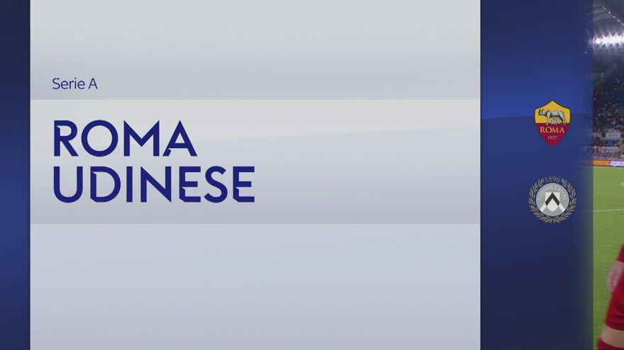 Roma-Udinese 1-0, gol e highlights