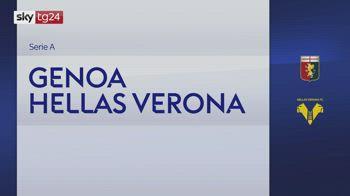 Serie A, Genoa-Hellas Verona 3-3: video, gol e highlights
