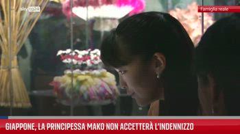 Giappone, la principessa Mako non accetter� l?indennizzo