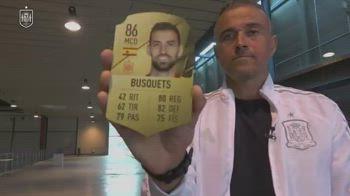 Spagna, Luis Enrique convocati card FIFA video