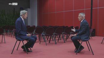 Verso Cop26, l'intervista di Sky Tg24 all'inviato John Kerry