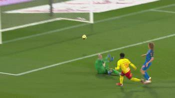 Lens-Reims 2-0, gol e highlights