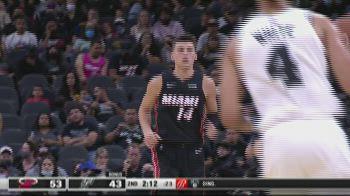 Preseason NBA: San Antonio-Miami 105-109