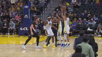 Preseason NBA: i 41 punti di Steph Curry contro Portland