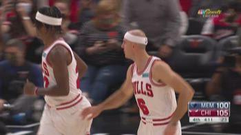 Preseason NBA: Chicago-Memphis 118-105