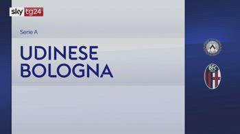 Serie A, Udinese-Bologna 1-1: video, gol e highlights