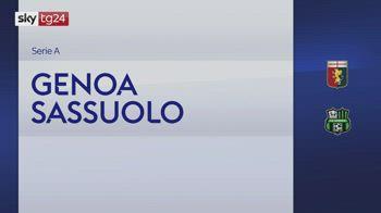Serie A, Genoa-Sassuolo 2-2: video, gol e highlights