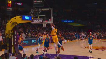 NBA, 33 punti per Anthony Davis contro Golden State