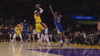NBA, 34 punti per LeBron James contro Golden State