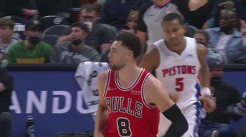 NBA, 34 punti per Zach LaVine contro Detroit