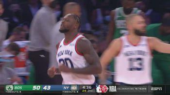 NBA, 35 punti per Julius Randle contro Boston