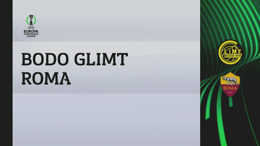Bodo Glimt-Roma 6-1: gol e highlights
