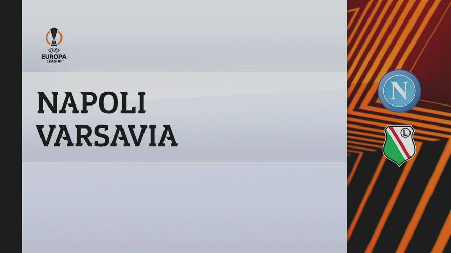 Napoli-Legia Varsavia 3-0: gol e highlights