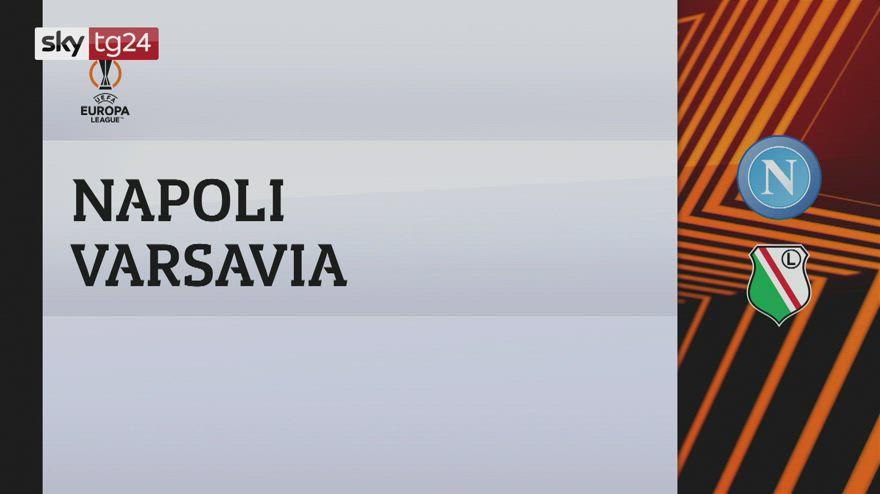 Europa League, Napoli-Legia Varsavia 3-0: video e highlights