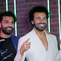 Salah incontra sé stesso al museo delle cere