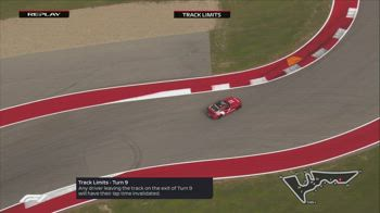 F1 CANALE 207 ORE 18.47 TRACK LIMITS