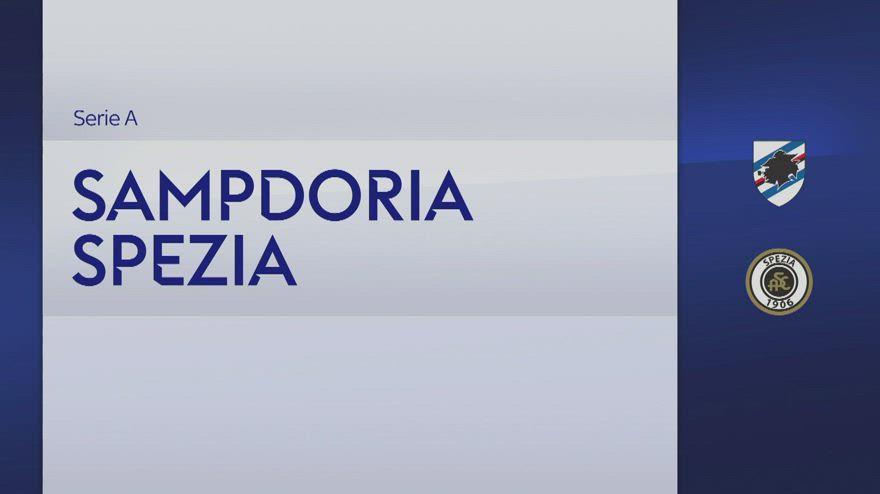 Sampdoria-Spezia 2-1, gol e highlights