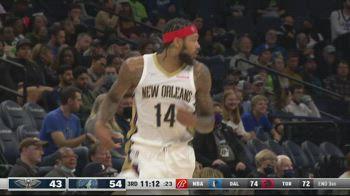 NBA, 30 punti per Brandon Ingram contro Minnesota