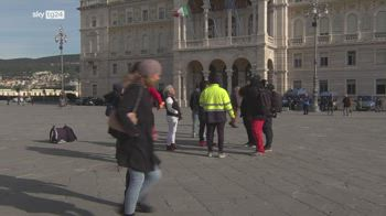 Trieste, crescono i contagi da coronavirus