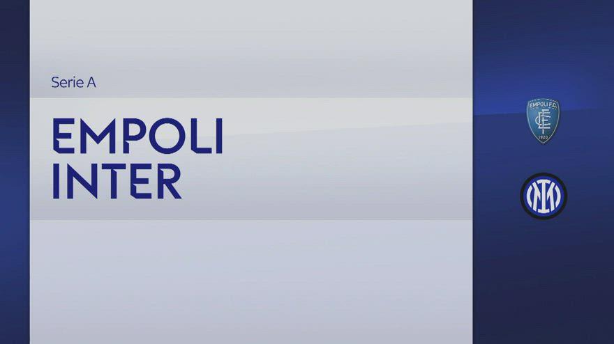 Empoli-Inter 0-2: gol e highlights