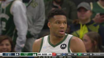 NBA, 40 punti per Giannis Antetokounmpo contro Minnesota